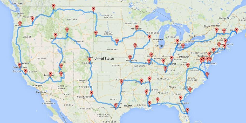 Большое путешествие по Америке