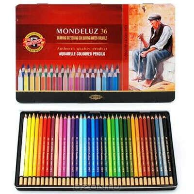 """Набор цветных акварельных карандашей """"Mondeluz"""""""