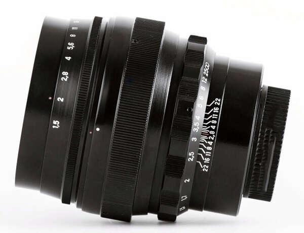 Объектив Гелиос 40-2С (Canon)