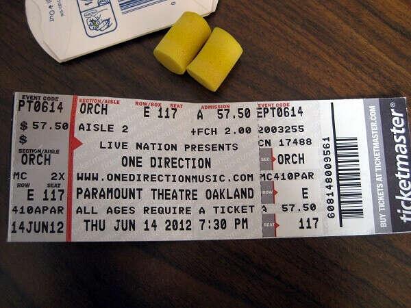 Билеты на концерт One direction
