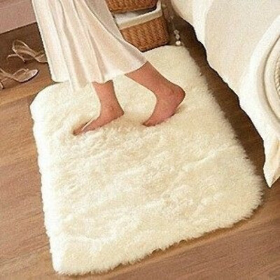 50 * 80 см ковер коврик для ванной комнаты замши супер удобные нескользящей коврики для ванной бесплатная доставкакупить в магазине Just In TimeнаAliExpress