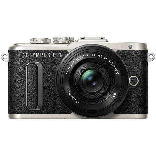 Фотоаппарат системный Olympus E-PL8 black + 14-42 EZ black