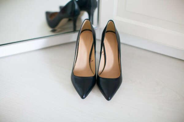 Идеальные черные туфли-лодочки