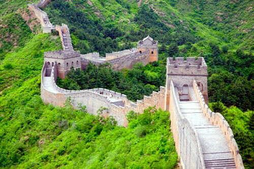 пройти по Великой Китайской стене