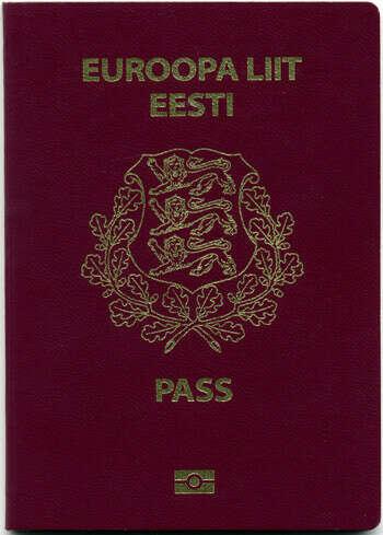 Эсти паспорт
