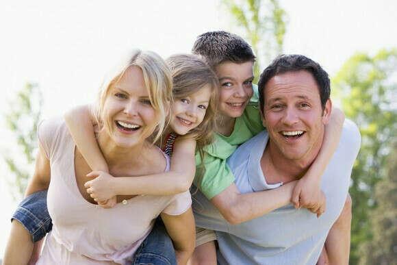 Счастливую семью