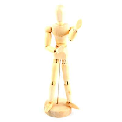 "8"" Reeves Artist Wooden Manikin Mannequin Setching Figure Drawing Model"