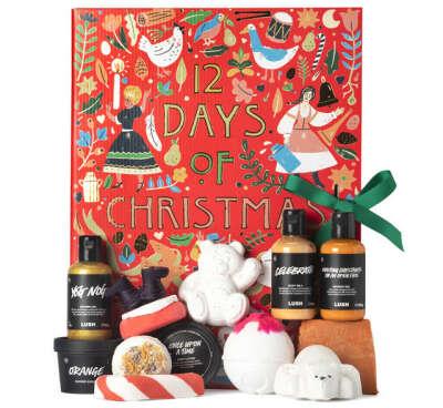 Адвент-календарь 12 Days of Christmas от Lush | Каталог адвент-календарей
