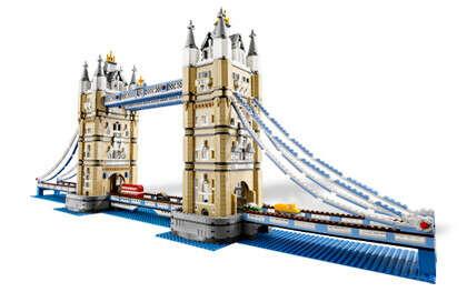 Конструктор LEGO 10214 Тауэрский Мост (Tower Bridge)