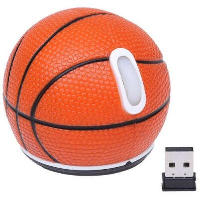 Беспроводная оптическая мышь «Баскетбол»