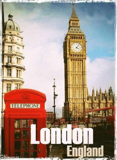 Хочу поехать в Лондон .