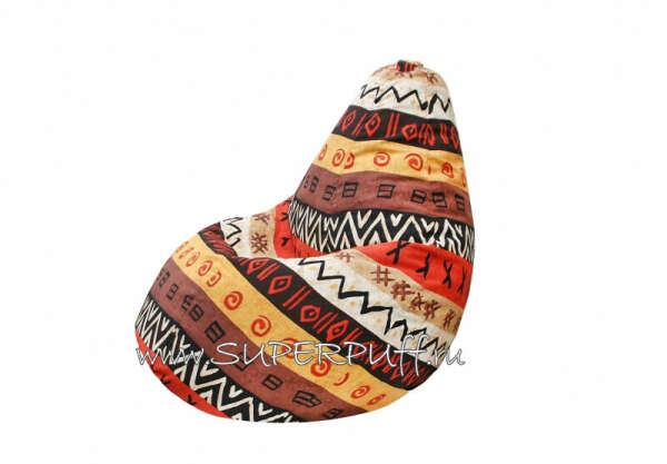 Бескаркасное кресло-мешок груша Africa