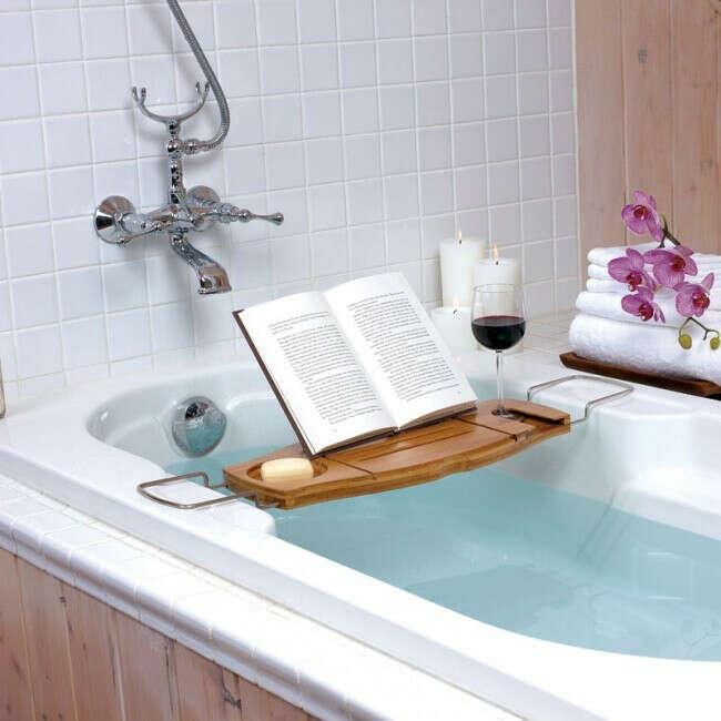 Полка для ванной Aquala дерево