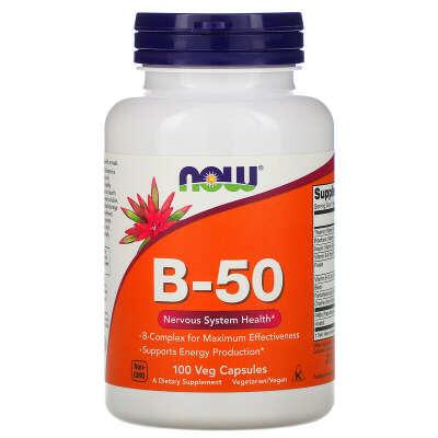 Комплекс витаминов B-50