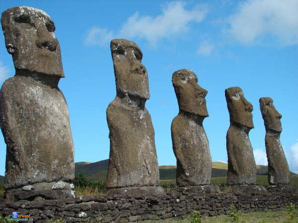 Побывать на острове Пасхи