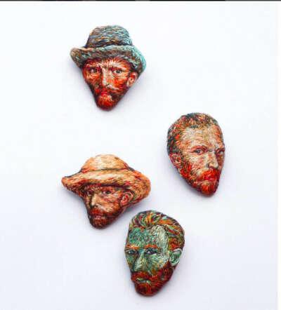 Брошка Vincent Van Gogh (Naked Needle)