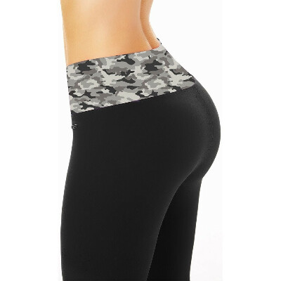 Leggins (Camouflage Gray) - Pilates Equipment Fitness
