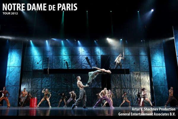 """на французскую постановку """"Notre Dame De Paris"""""""