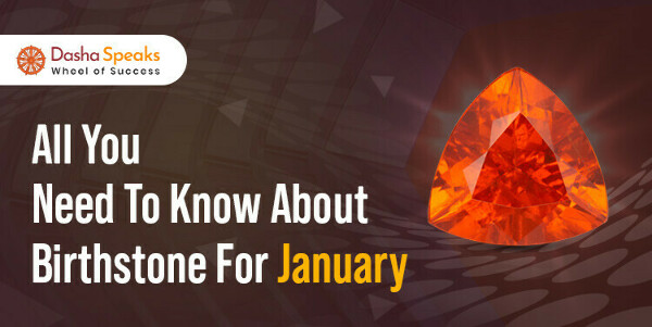 January Birthstone - Meaning, Gem Stone Color for Jan Born