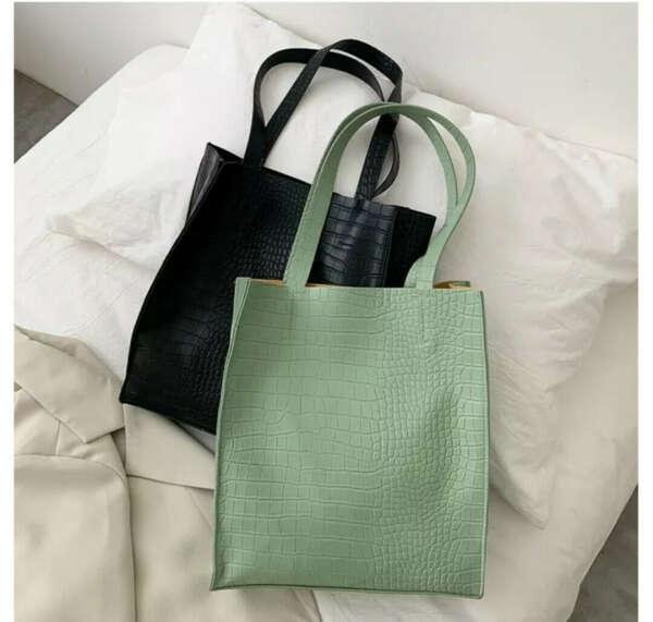Буквально любая минималистичная сумка