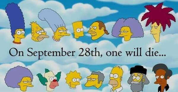 Я хочу чтобы в Симпсонах никто не умер