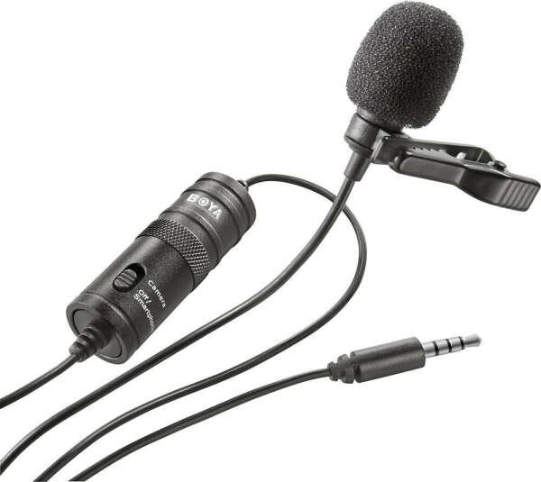 Микрофон-петличка Boya BY-M1