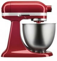 Миксер планетарный KitchenAid Mini красный 5KSM3311XEER, 3.3 л | Купить, цена, отзывы —  Магазин Andy Chef  - Две Морковки