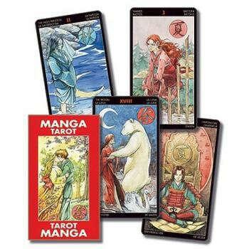 Manga Tarot (by Riccardo Minetti & Anna Lazzarini)