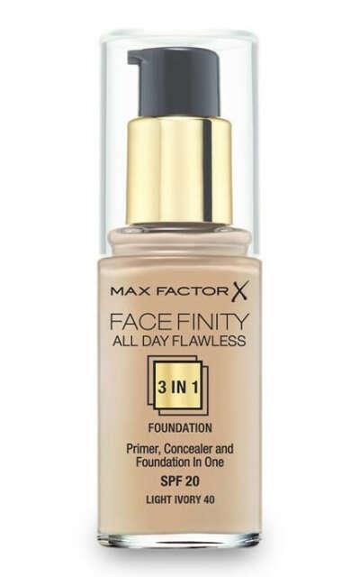 Тональна основа Max Factor Facefinity All Day Flawless 3 в 1