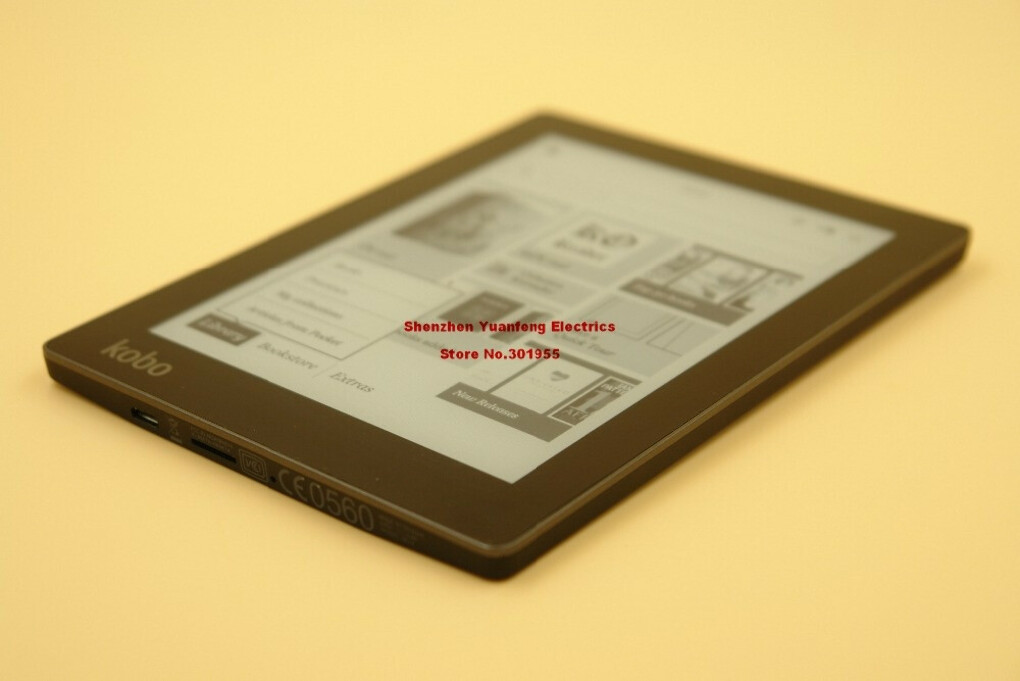 E-ink book reader