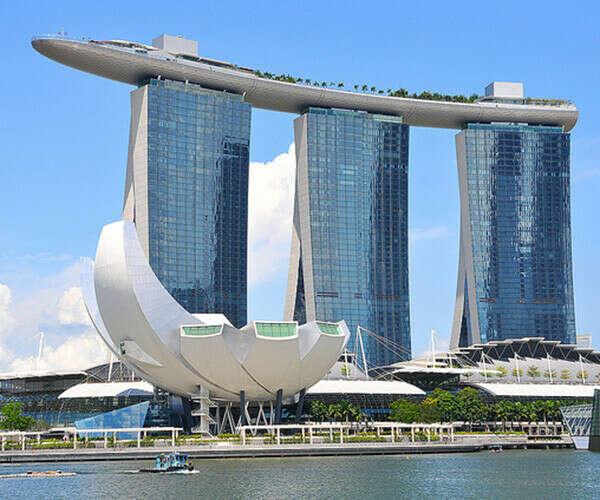 Сингапур, Marine Bay Sands