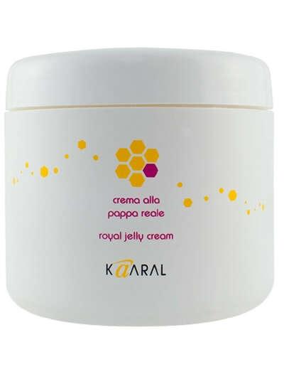 Питательная крем-маска для волос с маточным молочком Royal Jelly Cream, 500мл., Kaaral