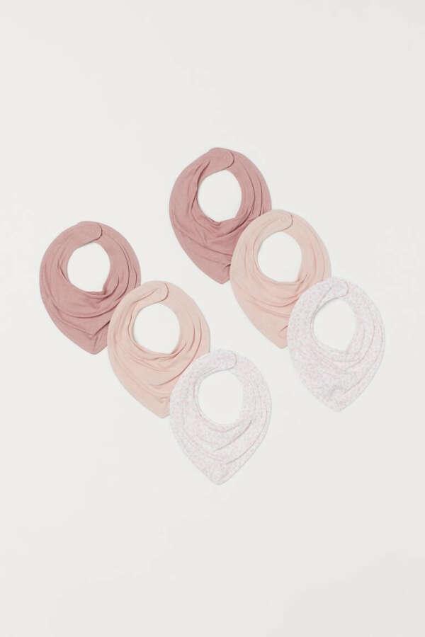 6 косынок-слюнявчиов H&M