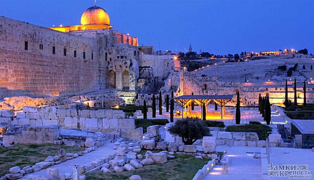 В Иерусалим.