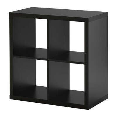 КАЛЛАКС Стеллаж - чёрный - IKEA