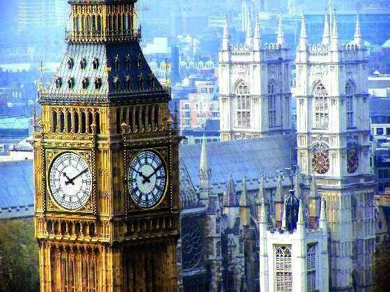 в Лондон