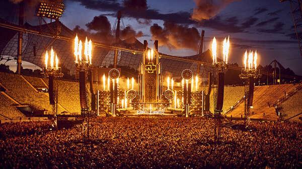 Попасть на концерт Rammstein