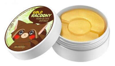 Gold Racoony Hydrogel Eye & Spot Patch