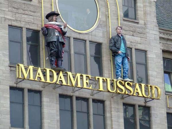 Посетить Музей Madame Tussauds в Лондоне