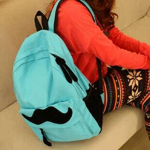 Мятный рюкзак