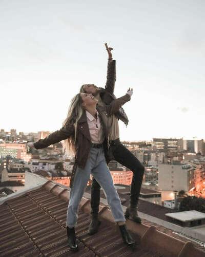 Встретить закат на крыше