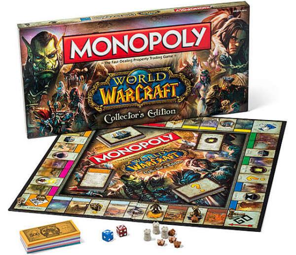 Настольная игра Monopoly World of Warcraft