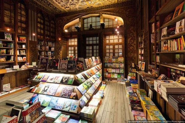 Поработать в книжном магазине