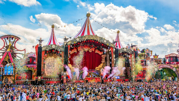 Music Festival «Tomorrowland», Bom, Belgium