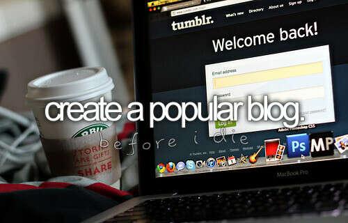 Популярный блог