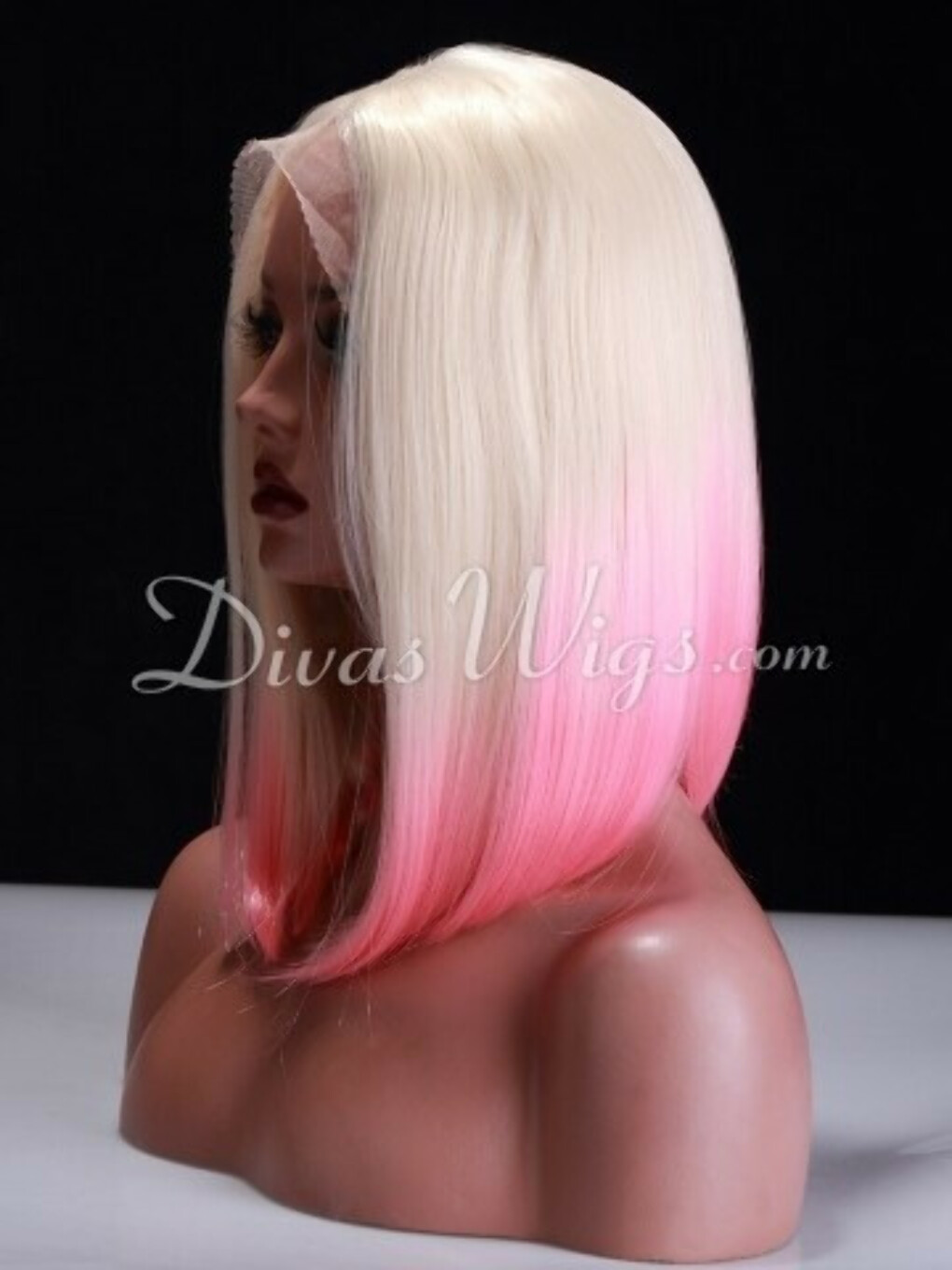 Pastel Pink Ombre Wig