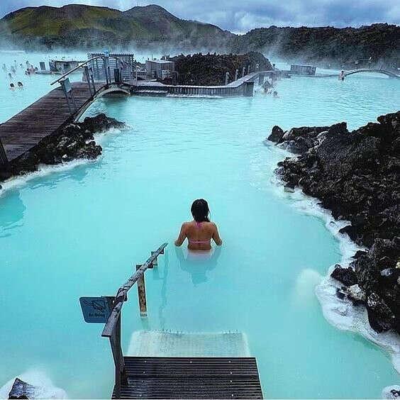 Горячие источники Исландии