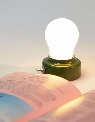 Настольный беспроводной светильник