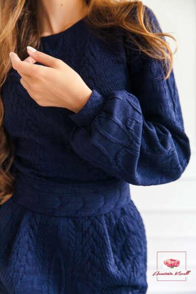 Красивое зимнее платье от Анастасии Коваль