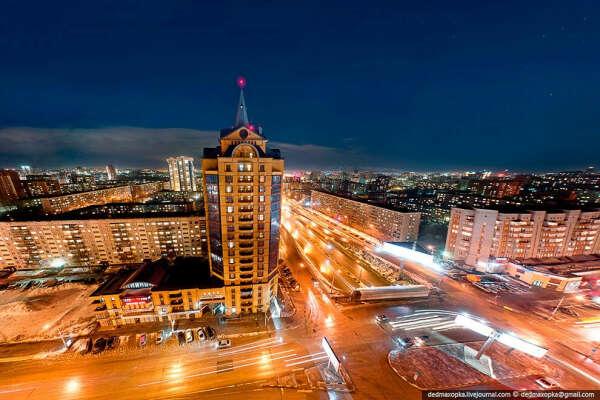 Поездка в Новосибирск